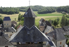 Eglise Saint-Martin -  Clocher XVIIIe siècle de l'église Saint Martin (1714)