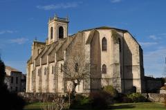 Eglise Notre-Dame de l'Assomption - English: Iglesia de Casteljaloux desde el SE
