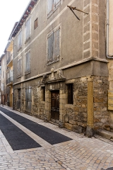 Ancien hôtel dit maison Pons - Français:  Ancien hôtel dit «maison Pons», rue Basse à Mende (France).