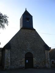 Ancienne église paroissiale Saint-Germain - English: Old St. Germain's church, in Daumeray, Maine-et-Loire, France.