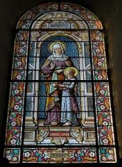 Eglise Sainte-Madeleine - Français:   Vitrail de l\'église de La Madeleine à Segré (49).
