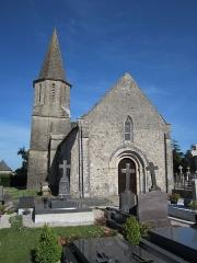 Eglise Saint-Julien - Français:   Église Saint Julien d\'Urville-Bocage, Manche