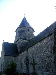 Eglise Saint-Martin - English: Church of La Meurdraquière (Manche)