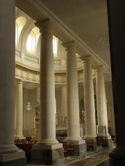 Eglise Saint-Gervais-Saint-Protais - Déambulatoire sud du chœur de la basilique Saint-Gervais d'Avranches (50).