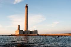 Phare de Gatteville et ancien phare, sémaphore de Barfleur - English: Gatteville lighthouse in Normandy near Barfleur