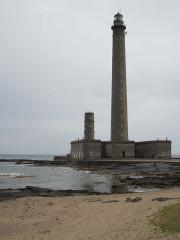 Phare de Gatteville et ancien phare, sémaphore de Barfleur - Français:   Gateville-le-Phare