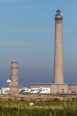 Phare de Gatteville et ancien phare, sémaphore de Barfleur - Phare de Gatteville-le-Phare (France)