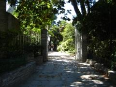 Domaine Emmanuel Liais - Français:   Entrée du parc Emmanuel-Liais à Cherbourg.