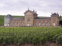 """Ancien établissement de viticulture de la maison Moët-et-Chandon, dit """" Le Fort Chabrol """" -  Fort Chabrol - Épernay"""
