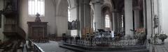 Chapelle Sainte-Croix -  Transept de la cathédrale de la Sainte-Trinité à Laval (53).
