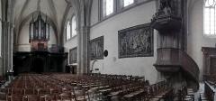 Chapelle Sainte-Croix -  Laval (Mayenne, Pays de la Loire, France) cathédrale de la Sainte-Trinité, orgue d'Aristide Cavaillé-Coll de 1853, restauré par Jean Renaud en 1976.