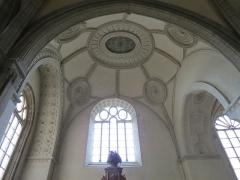 Chapelle Sainte-Croix -  Voûtes du transept nord de la cathédrale de la Sainte-Trinité de Laval, Mayenne, Pays de la Loire.
