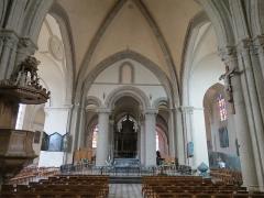 Chapelle Sainte-Croix -  Transept de la cathédrale de la Sainte-Trinité de Laval, Mayenne, Pays de la Loire.