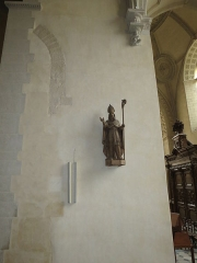 Chapelle Sainte-Croix -  Intérieur de la cathédrale de la Sainte-Trinité de Laval, Mayenne, Pays de la Loire.