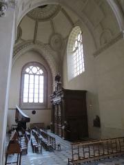 Chapelle Sainte-Croix -  Transept nord de la cathédrale de la Sainte-Trinité de Laval, Mayenne, Pays de la Loire.