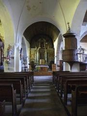 Eglise Saint-Martin - Français:   Église Saint-Martin de Châtillon-sur-Colmont (53). Croisée et chœur.