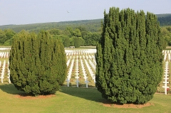 Ossuaire de Douaumont - English: Douaumont ossuary. Memorial of the Battle of Verdun