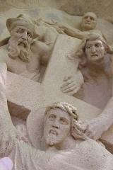 Chemin de croix de Benoite-Vaux - Français:   Le chemin de croix