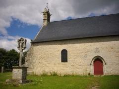 Chapelle Notre-Dame de Bon Secours de Mangolérian - Chapelle et calvaire de Mangolérian à Monterblanc (Morbihan, France)