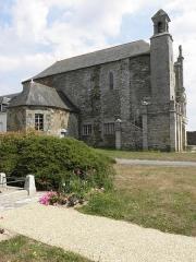 Eglise Saint-Martin - Français:   Église Saint-Martin de Josselin (56). Flanc ouest.