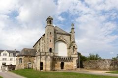 Eglise Saint-Martin - Français:  Église Saint-Martin de Josselin (France).