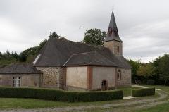 Château des Forges de Lanouée - Français:   Église Notre-Dame-de-Toute-Aide des Forges.