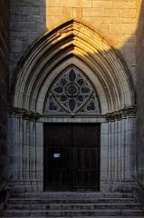 Eglise Saint-Caradeuc -  L'église Saint-Caradeuc à Donzy.