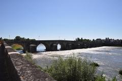 Grand pont sur la Loire - Français:   Grand pont sur la Loire, La Charité sur Loire