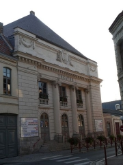 Théâtre municipal - English: The municipal theater in Douai (Nord, France).