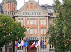 Hôtel de ville - Français:    Hôtel de ville de Lille, place Roger-Salengro à Lille Nord (département français)