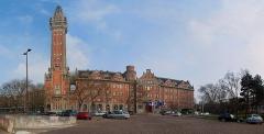Hôtel de ville - Français:   Hôtel de Ville, Lille.