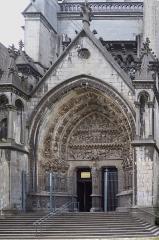 Cathédrale Notre-Dame de la Treille - Portail sud de la cathédrale Notre Dame de la Treille, Lille Nord (département français)