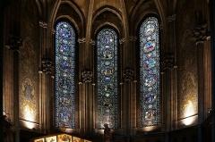 Cathédrale Notre-Dame de la Treille - Vitraux de Chapelle St Jean dans la  Cathédrale de Notre Dame de la Treille, Lille Nord (département français)
