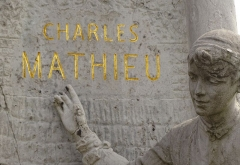 Monument à Charles Mathieu - French photographer and Wikimedian