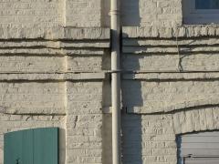 Ensemble du coron de l'église - Français:   Cités de la Fosse La Sentinelle de la Compagnie des mines d\'Anzin, La Sentinelle, Nord, Nord-Pas-de-Calais, France.