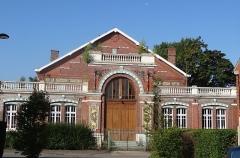 Salle des fêtes du quartier d'Arenberg construite par la compagnie des mines d'Anzin - French photographer and Wikimedian