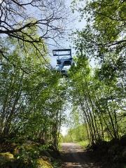 Puits n° 2 de la fosse dite  Sabatier  de la compagnie des mines d'Anzin - Français:   La fosse Sabatier de la Compagnie des mines d\'Anzin était un charbonnage du bassin minier du Nord-Pas-de-Calais constitué de deux puits situé à Raismes, Nord, Nord-Pas-de-Calais, France.