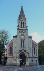 Temple protestant - Français:   Temple protestant de Lille Lille  Nord (département français)