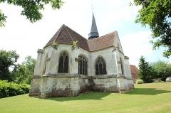 Eglise Saint-Aubin - Français:   Église Saint-Aubin de Guignecourt en France.