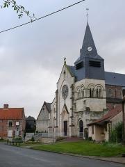Maison dite  du Chapitre , ancien presbytère -  Croissy-sur-Celle: L'Église Saint-Léger