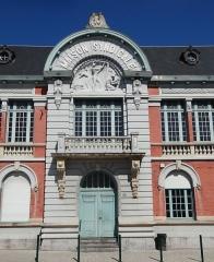 Ensemble des bâtiments formant la maison syndicale des mineurs - French photographer and Wikimedian