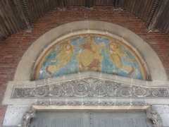 Eglise Saint-Louis de la cité n° 5 de la compagnie des mines de Béthune - French photographer and Wikimedian