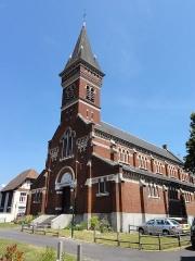 Eglise Saint-Edouard de la cité n° 12 de la compagnie de mines de Lens - French photographer and Wikimedian