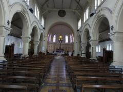 Eglise Saint-Edouard de la cité n° 12 de la compagnie de mines de Lens - Église Saint-Édouard des cités de la Fosse n° 12 de la Compagnie des mines de Lens, Lens, Pas-de-Calais, Nord-Pas-de-Calais, France.
