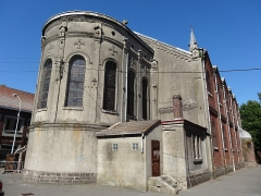 Eglise Sainte-Barbe - French photographer and Wikimedian