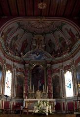 Eglise Saint-Pierre - L'église Saint-Martin d'Ahetze se situe sur la commune d'Ahetze, dans le département français des Pyrénées-Atlantiques.