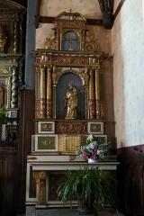 Chapelle Saint-Cyprien d'Ascombéguy - L'église Notre-Dame-de-l'Assomption à Ascain (Pyrénées-Atlantiques, Aquitaine, France).