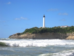 Phare de la Pointe Saint-Martin - This building is indexed in the Base Mérimée, a database of architectural heritage maintained by the French Ministry of Culture,under the reference PA64000072 .
