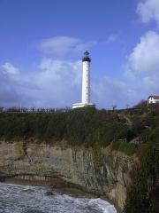 Phare de la Pointe Saint-Martin - English:   The lighthouse of Biarritz (Pyrénées-Atlantiques, Aquitaine, France).