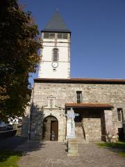 Eglise Saint-Etienne - English: baigorri